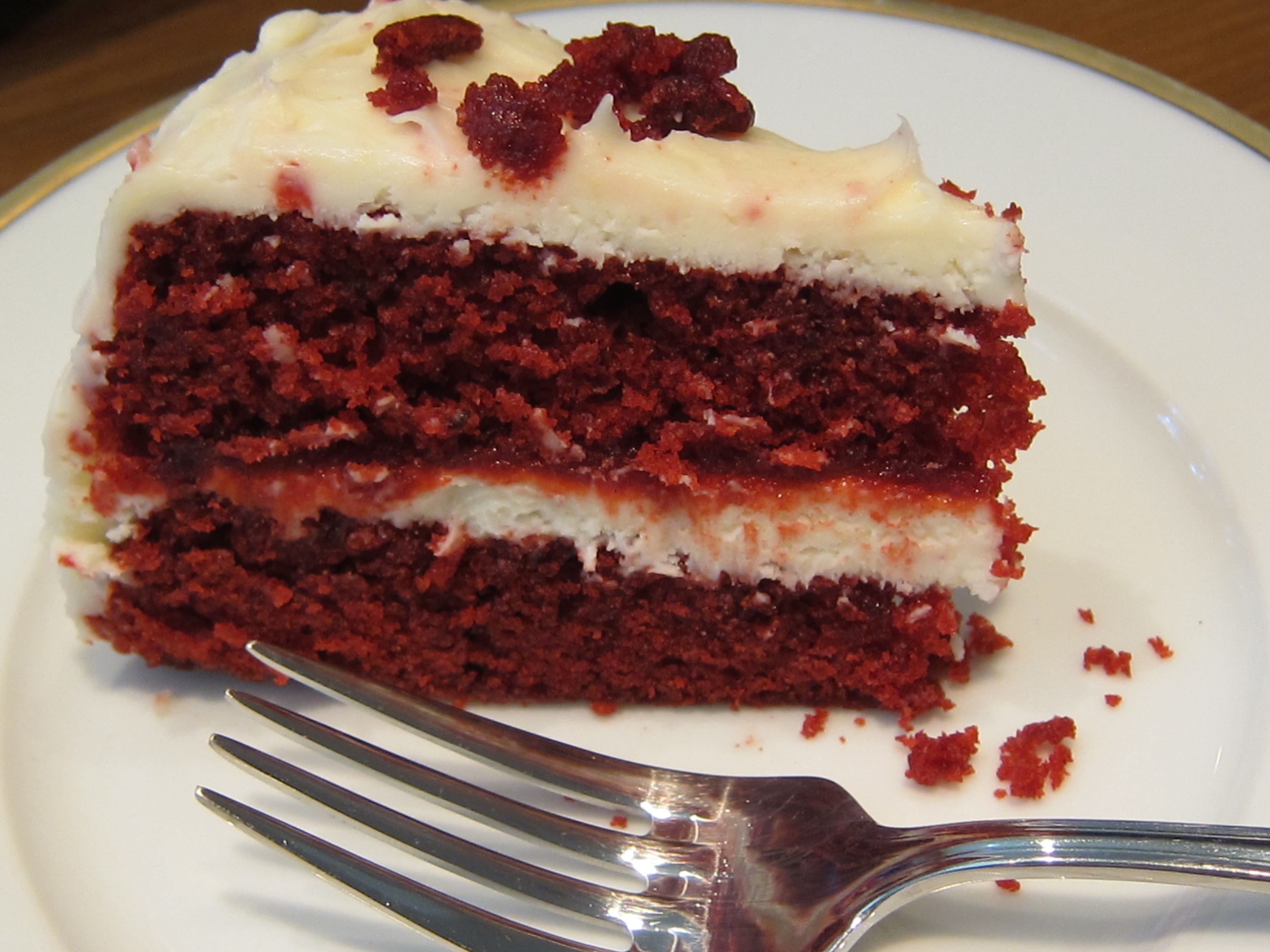 Red Velvet cake with Cream Cheese Frosting | SeriouslySimple