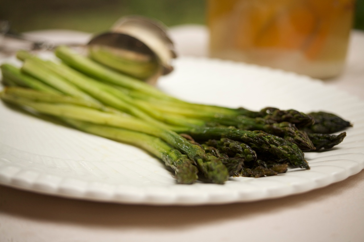 Roasted Asparagus: An Elegant First Course or Side Dish